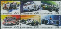 AUS SG2175a Centenary of Motor Racing in Australia and New Zealand block